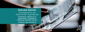 Školske novine - radionica